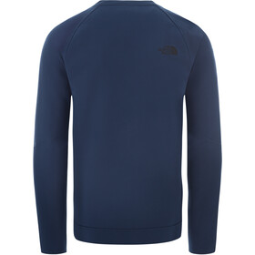 The North Face Tekno Ridge Pull à col ras-du-cou Homme, blue wing teal